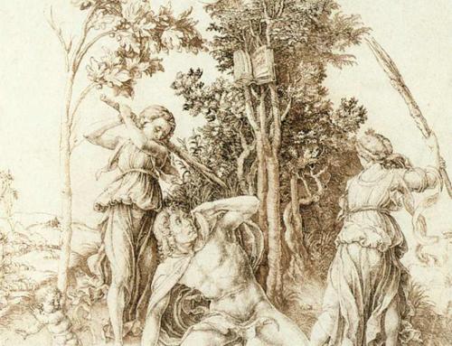 """Albrecht Dürer : """"La mort d'Orphée""""."""