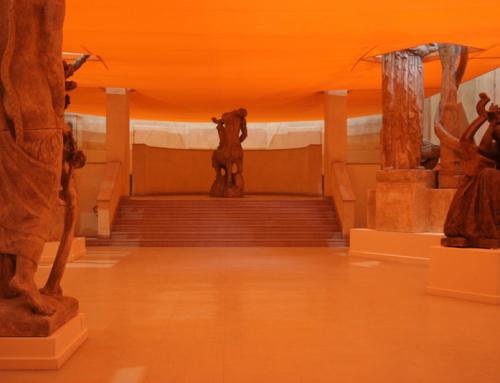 """2006, """"Pèse-Bourdelle, ou Comment expliquer les sculptures à un statuaire mort"""" par Jean-Philippe Antoine."""