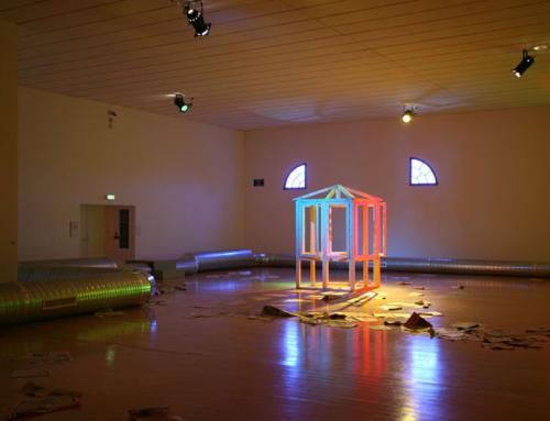 2009, L'ouverture ;10e Biennale de Lyon.