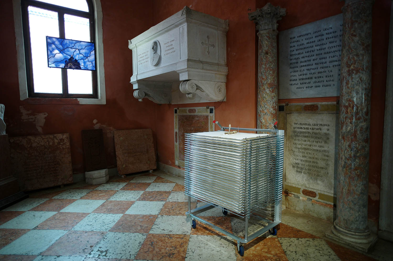 Sarkis Biennale de Venise Pavillon Armenien San Lazzaro degli Armeni Mai-Novembre 2015