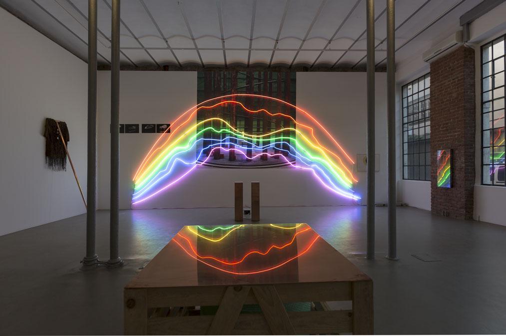 Twin Rainbow Galerie Mana Istanbul 10 9 2013