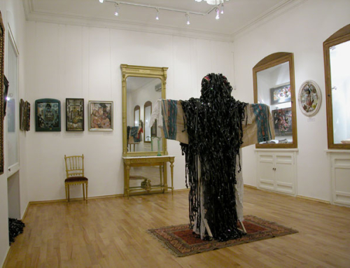 """2004, """"Sarkis in Yerevan or rediscovering the ZONE"""" by Ruben Arevshatyan."""