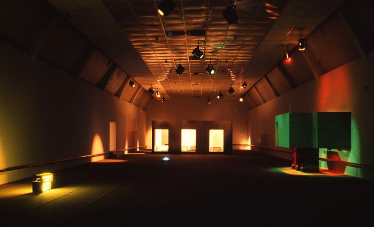 1989, Ma Chambre de la Rue Krutenau en Satellite et 103 Aquarelles