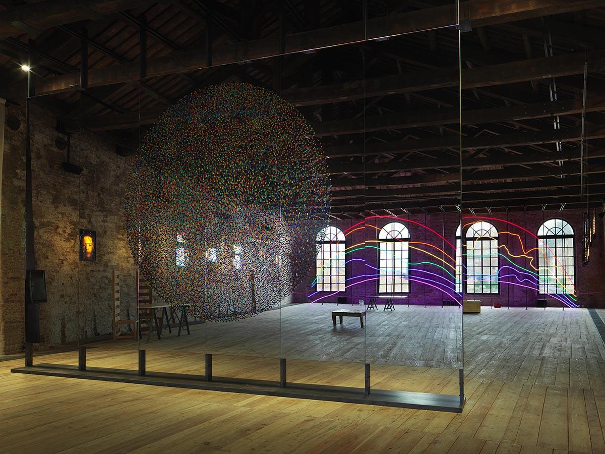 Sarkis, Respiro, Biennale de Venise, Pavillon de la Turquie, Mai - Novembre 2015. Photographie André Morin